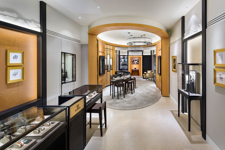 02.--Jaeger-LeCoultre-Boutique-in-Vancouver---Interior-1