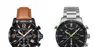 Certina DS Podium y DS2 Flyback