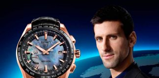 Edición limitada Seiko Astron GPS Solar World-Time Novak Djokovic