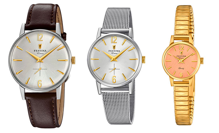 Festina Extra hombre, mujer y XS