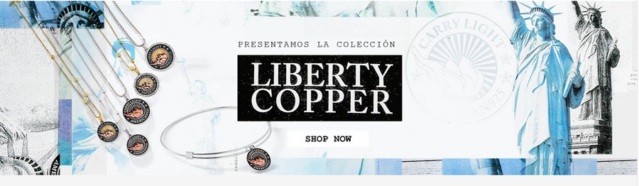 Alex and Ani Liberty Copper