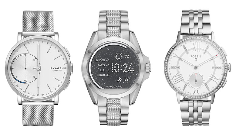Skagen Connected, Michael Kors Access y Fossil Q