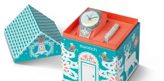 Estuche reloj Swatch God Jul