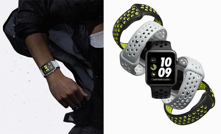 Applewatch Nike con correas perforadas