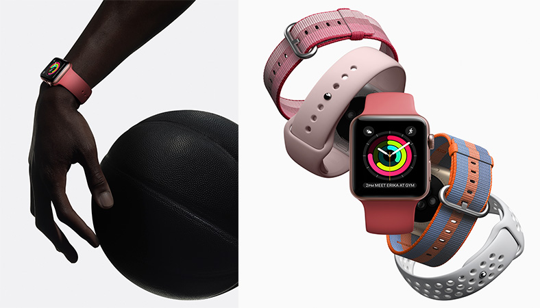Applewatch con pulsera de nailon