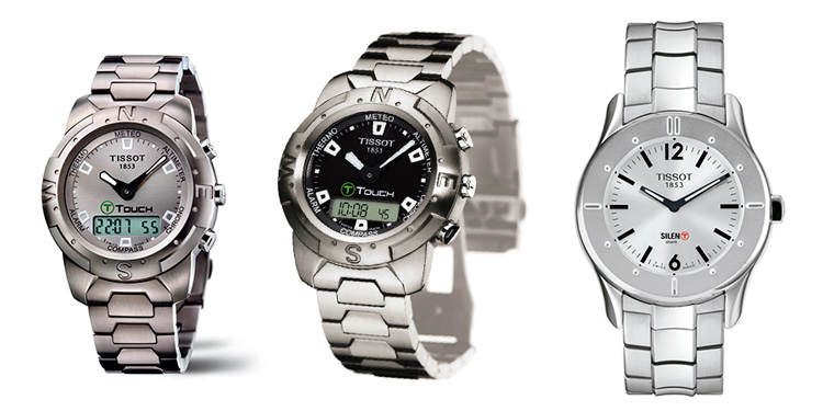 Tissot T-Touch 1999, 2002 y 2003