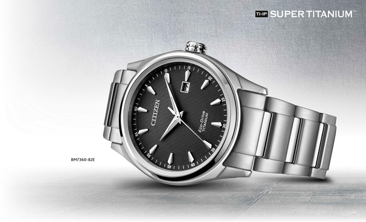 Citizen Ti+IP Super-Titanium BM7360-82E