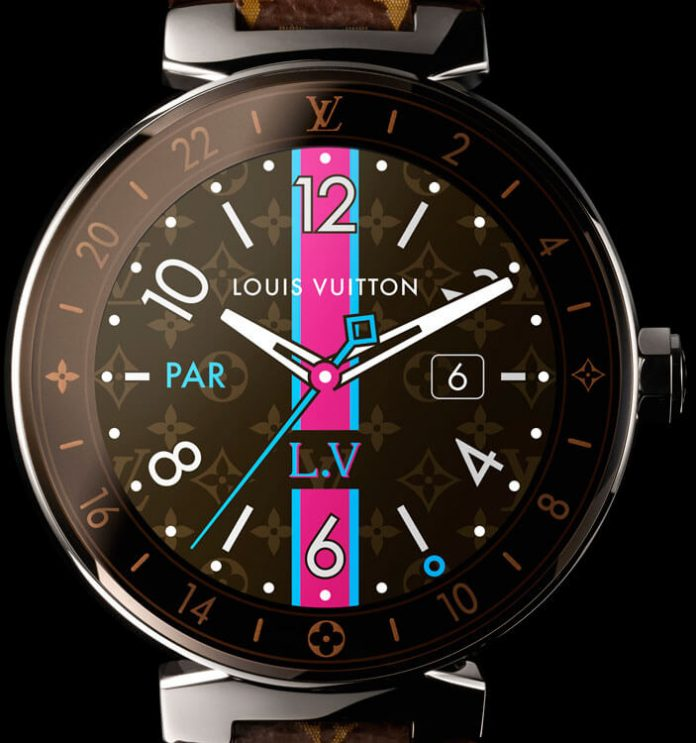 Louis Vuitton Connected Tambour Horizon Monogram