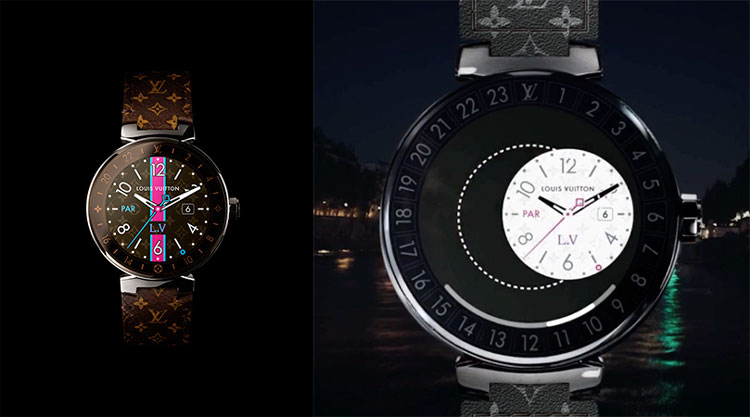 Louis Vuitton Connected Tambour Horizon