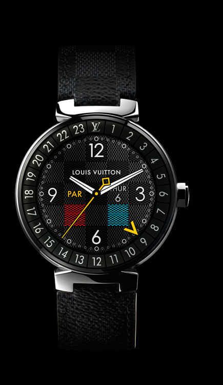 Louis Vuitton Connected Tambour Horizon Graphite