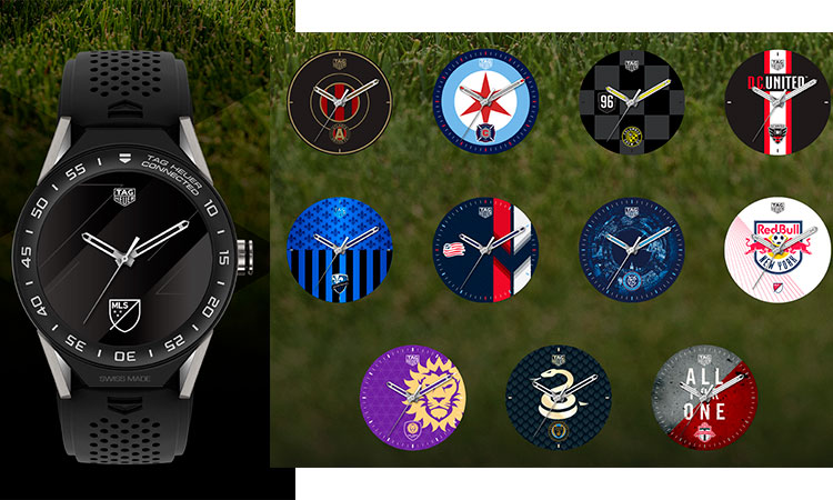 TAG Heuer modular 45 esferas de la Major League Soccer