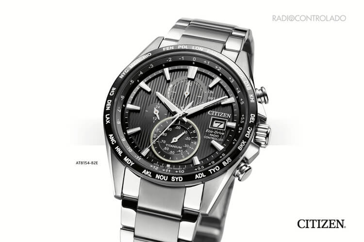 Citizen H800 Super Titanium Radiocontrolado AT8154-82E