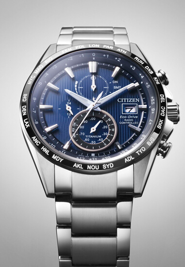 Citizen H800 Super Titanium Radiocontrolado AT8154-82L