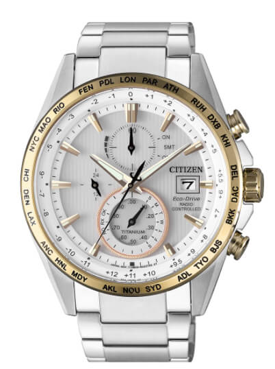 Citizen H800 Super Titanium Radiocontrolado AT8156-87A