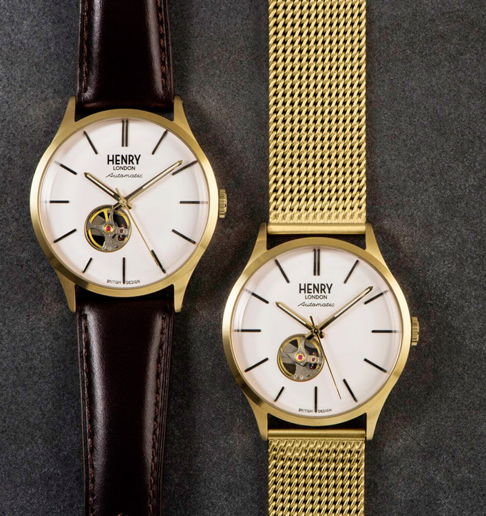 Henry London Automatic Duo Gold