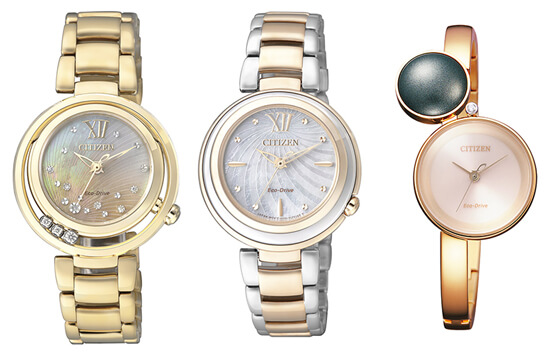 Relojes Citizen Eco Drive de mujer
