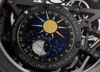Panerai L'Astronomo Luminor 1950 Tourbillon Moon Phases Equaytion of Time GMT
