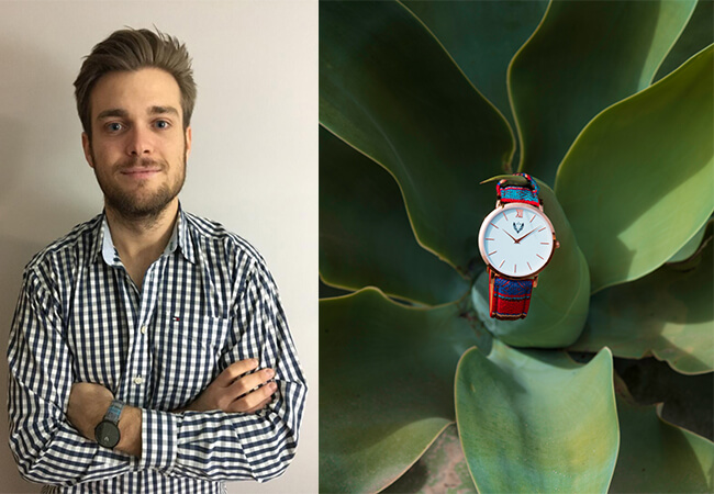 Javier Gurney, fundador de Ethnic Watches