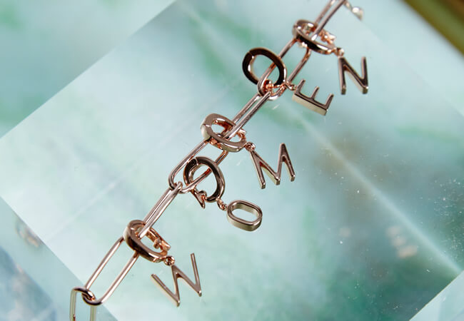 Rosefield Rosefield Downtown Chic Chain