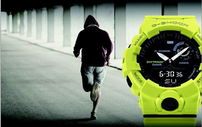 G-SHOCK GBA-800 serie G-SQUAD