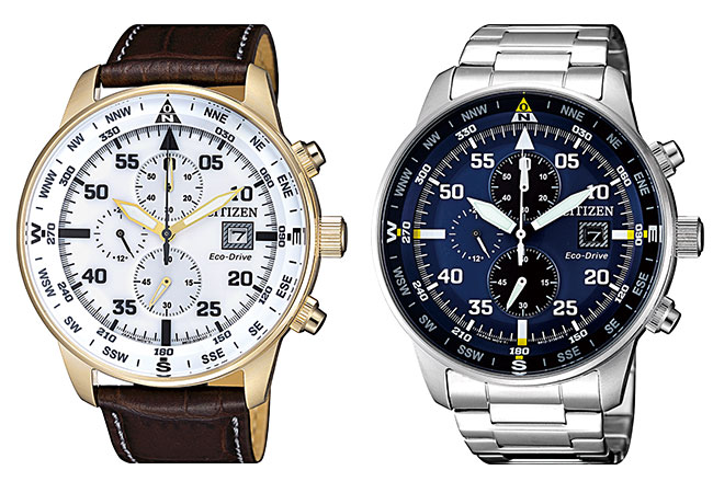 Relojes Citizen OF Eco Drive Chrono Aviator