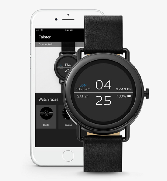 Skagen Falster Black 42 mm