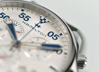 Hamilton Khaki Pilot Air Race Chrono Quartz