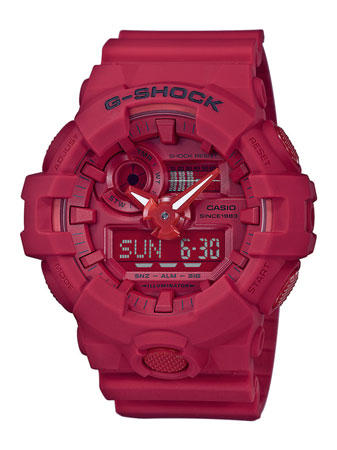 G-SHOCK Red-Out modelo GA-735C