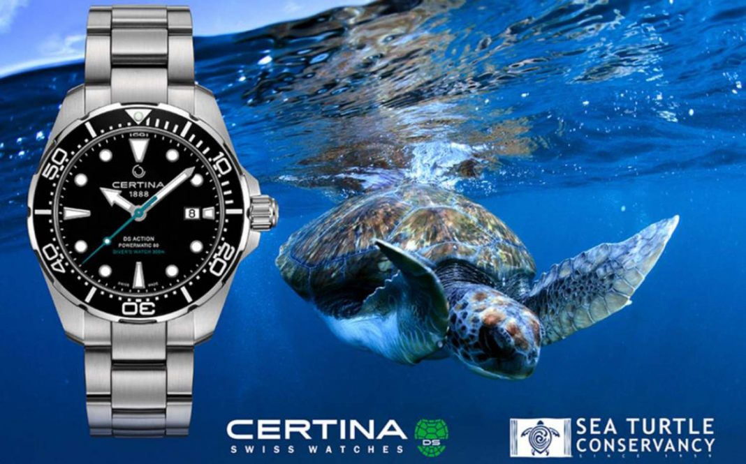Certina DS  Action Diver Sea Turtle Conservancy