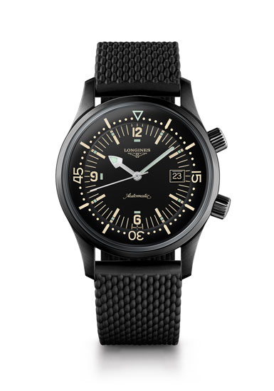 The Longines Legend Diver Watch Referencia L3.774.2.50.9